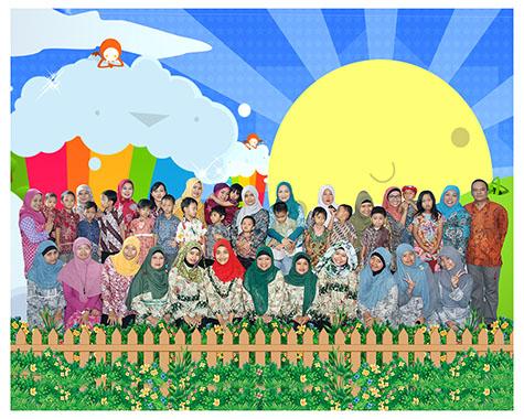 Foto KelasDaycareTaman Isola Angkatan 2013 - 2014